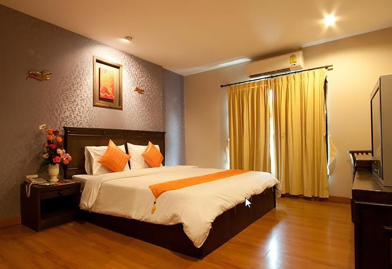 Lanna House, Chiang Mai, Standard Double Room, 1 Queen Bed, Guest Room