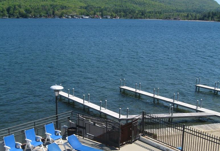 The Lake Motel, Lake George, Kilátás a hotelből