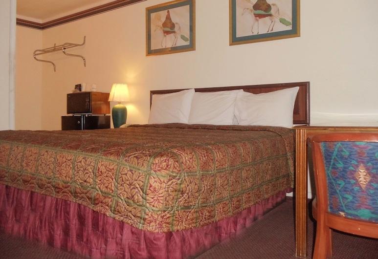 Antlers Budget Inn, Антлерс, Стандартний номер, 1 ліжко «кінг-сайз», для курців, Номер