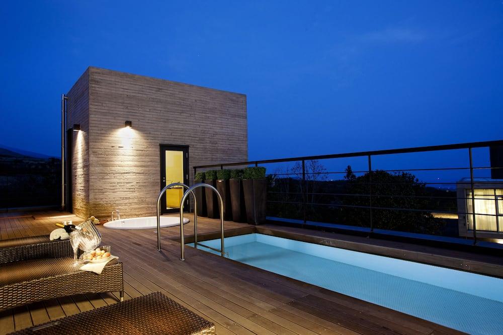別墅 (Seung Hyo Sang) - 頂樓游泳池