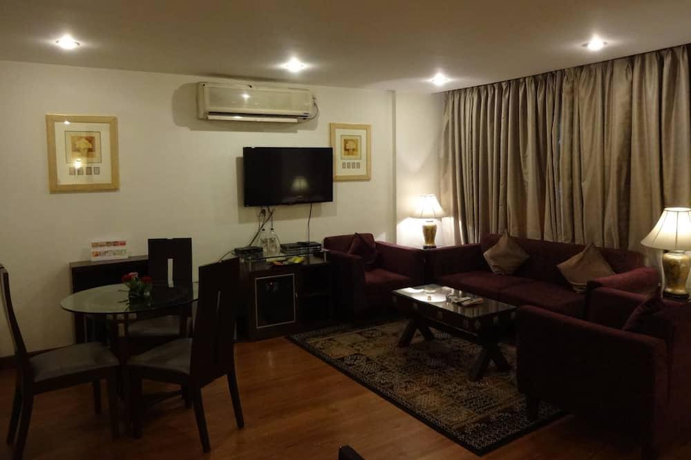 Premier Suite, 1 Double Bed - Living Area