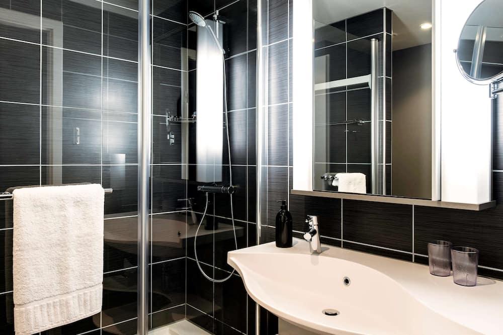 Студия, 1 двуспальная кровать - Ванная комната