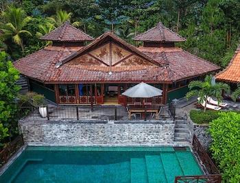 Fotografia hotela (Villa Borobudur Resort) v meste Borobudur (budhistický chrám)