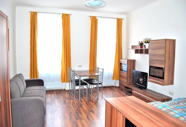 Vienna Family Apartments, Wenen, Standaard appartement, 1 slaapkamer, keuken, Woonruimte