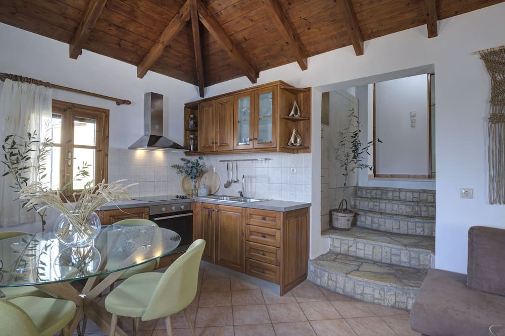 Cottage Superior, dapur kecil, pemandangan laut - Area Keluarga
