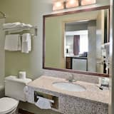 Standard Room, 1 King Bed, Poolside - Bathroom
