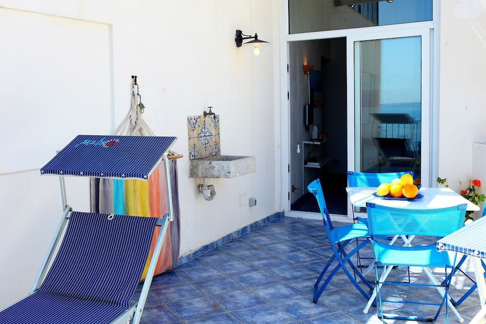 Departamento, 1 habitación, terraza, vista al mar (4 pax) - Balcón