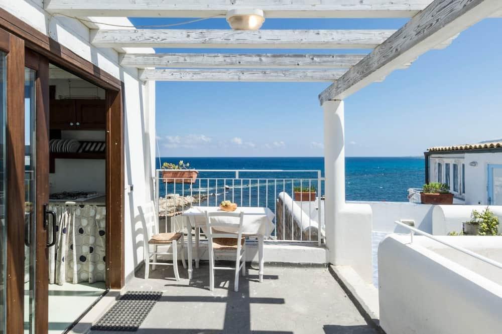 Departamento, 1 habitación, terraza, con vista parcial al mar - Imagen destacada