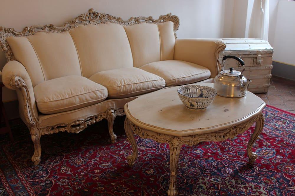 Superior Double Room (La Piazza) - Living Area
