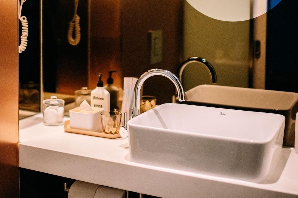 Izba typu Deluxe, výhľad na mesto - Kúpeľňa
