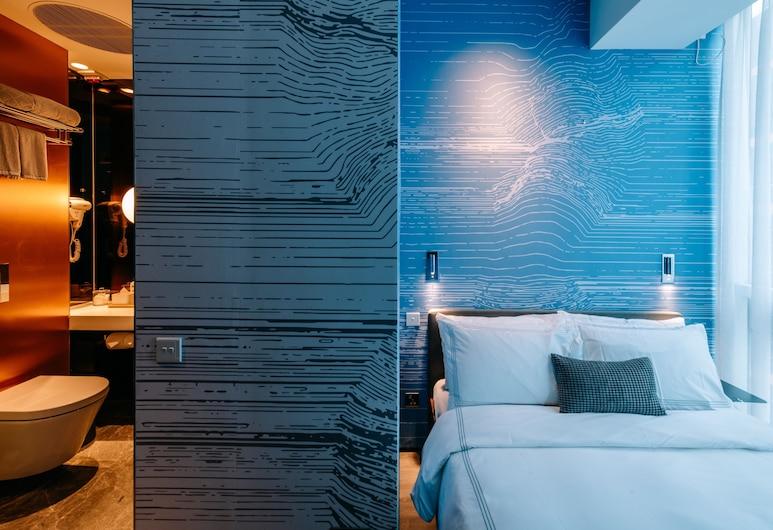 더 셩완 바이 오볼로, 홍콩, 스탠다드 더블룸, 시내 전망, 객실