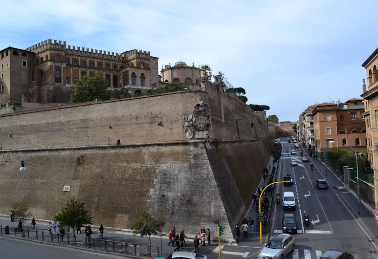 Quo Vadis Roma 2, Rom, Udsigt fra hotellet