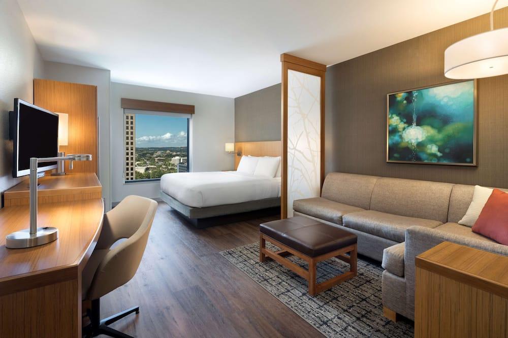 ห้องพัก, เตียงคิงไซส์ 1 เตียง (High Floor) - ห้องพัก