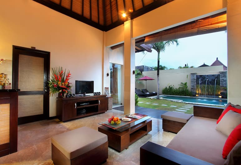 RC Villas, Seminyak, Villa, 2 slaapkamers, privézwembad, Woonkamer