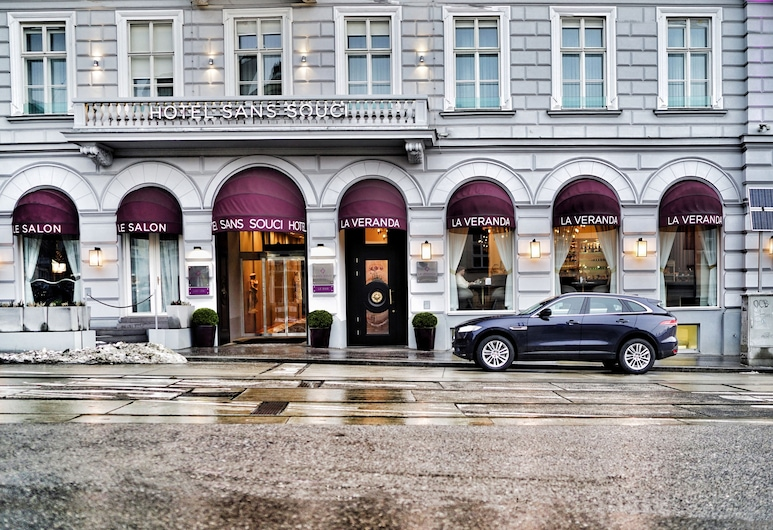 Sans Souci Vienna, Wien, Hoteleingang