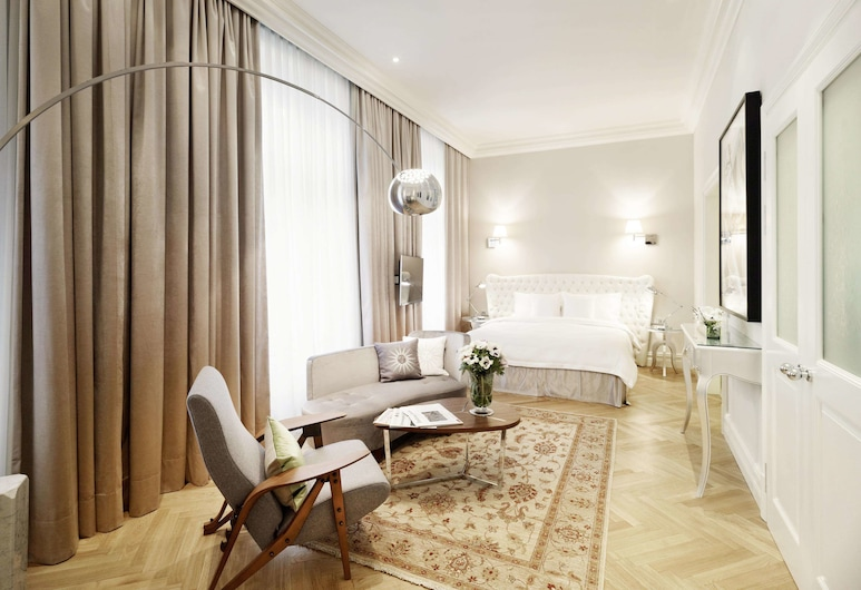 Sans Souci Vienna, Vienna, Junior Suite, Guest Room