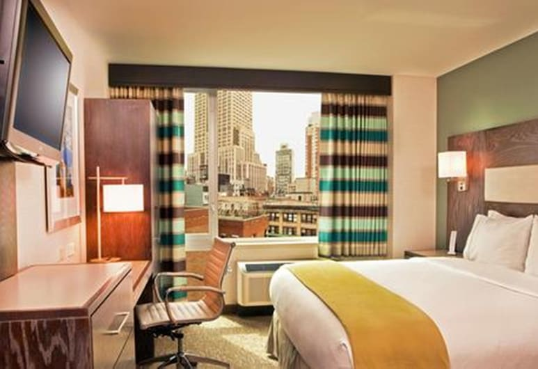Holiday Inn Express Manhattan Times Square South, New York, Room, 1 King Bed, Non Smoking (Leisure), Guest Room