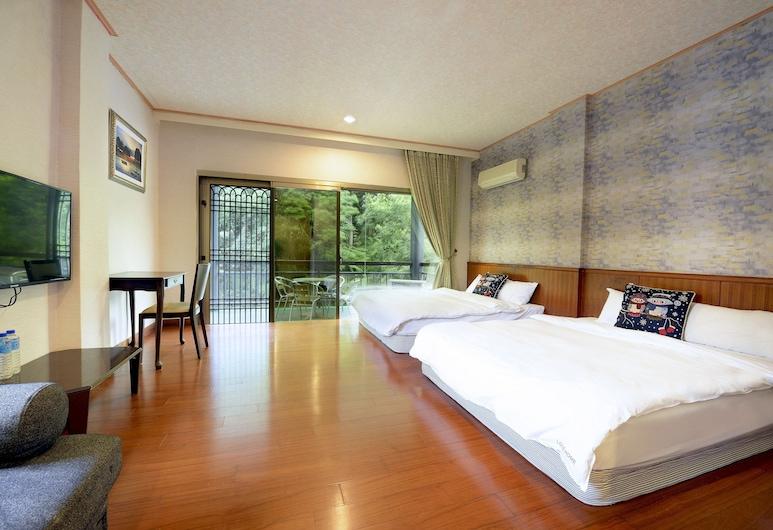 Sun Moon Lake Love Home Garden Inn, Yuchi, Rodinný apartmán, Hosťovská izba