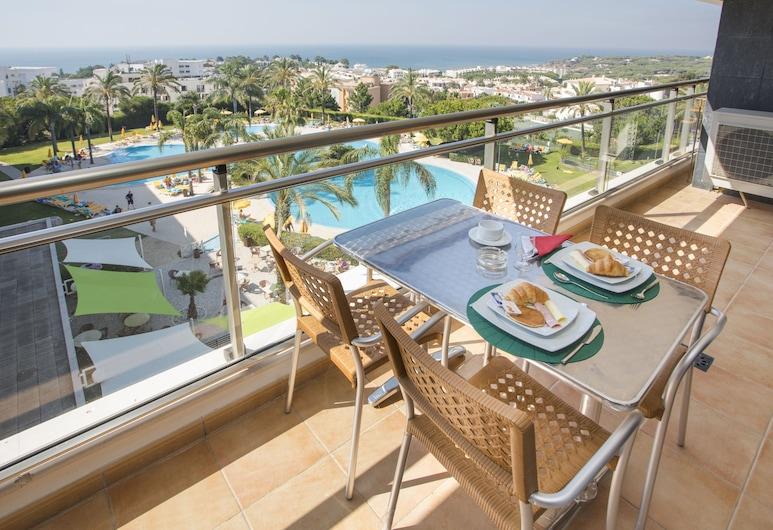 Alfagar Alto da Colina, Albufeira, Apartamento estándar, 2 habitaciones, vistas al jardín, Balcón
