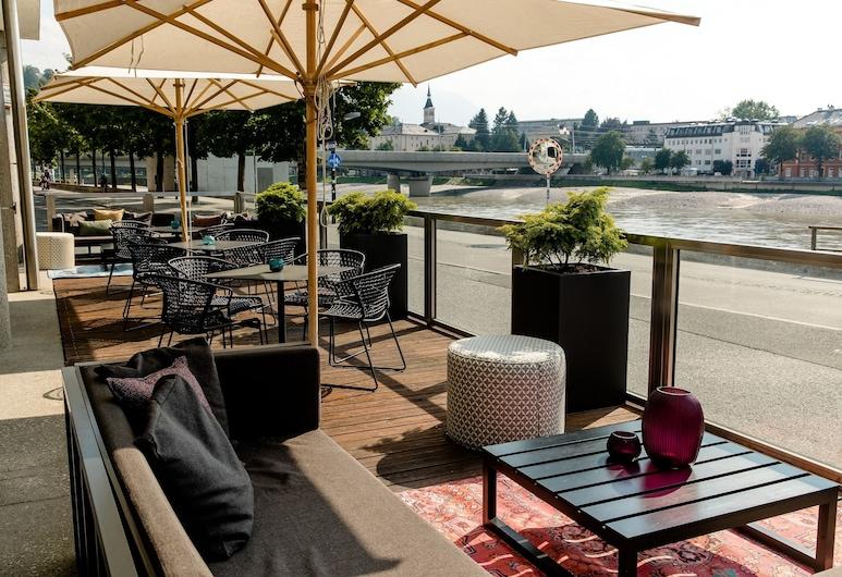 Motel One Salzburg-Mirabell, Salzburgo, Terraza o patio