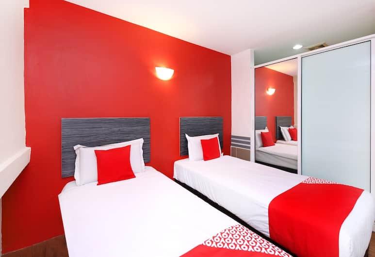 OYO 838 My Home Hotel Pekeliling, Kuala Lumpur, Kamar Twin Deluks, 2 Tempat Tidur Twin, Kamar Tamu