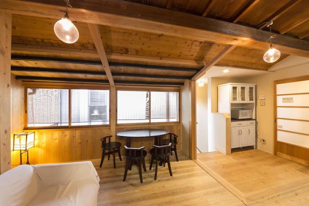 經濟雙床房, 非吸煙房, 共用浴室 (1,2 persons) - 客廳