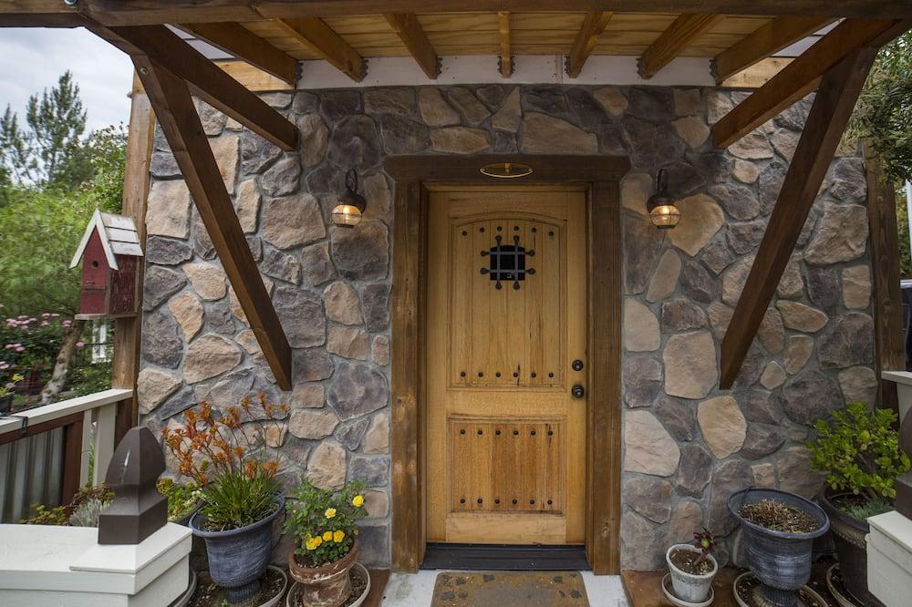 Soba, 1 king size krevet - Balkon