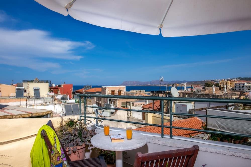 Luxury Triple Room, Sea View - Terrace/Patio