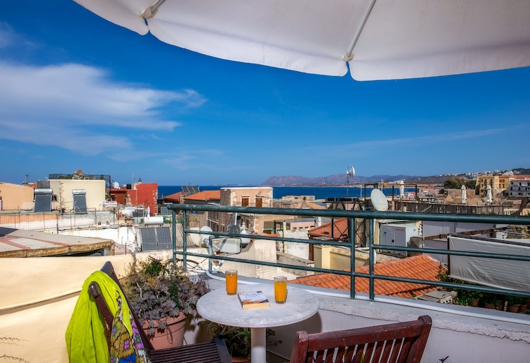 Ifigenia by Captain Michalis, Chania, Luxury Triple Room, Sea View, Terrace/Patio