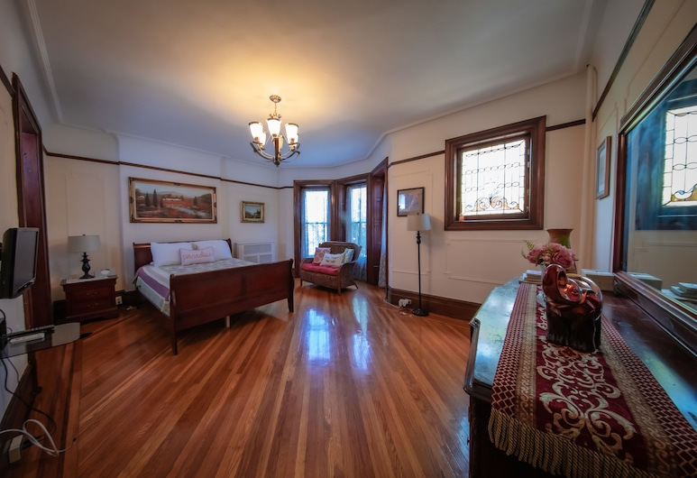 Lefferts Gardens Residence Bed and Breakfast, Brooklyn, Standard Double Room, Shared Bathroom (Crystal (2)), Guest Room