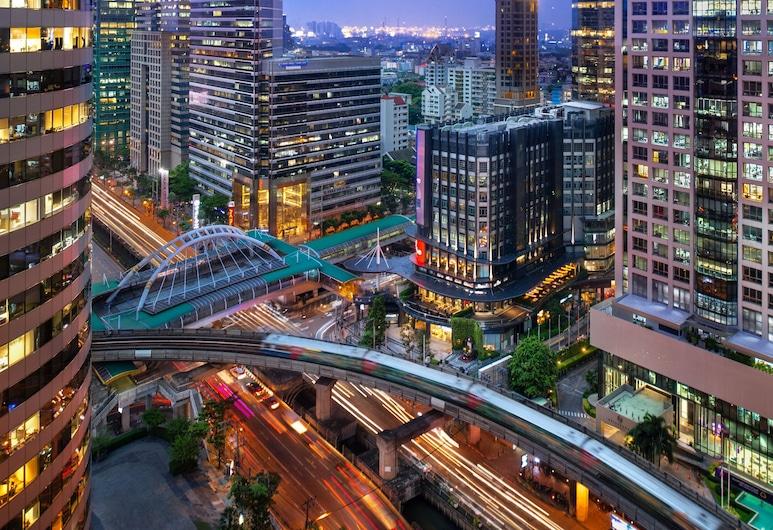 W バンコク, バンコク, Wonderful Room ルーム キングベッド 1 台 禁煙 シティビュー, 部屋からの眺望