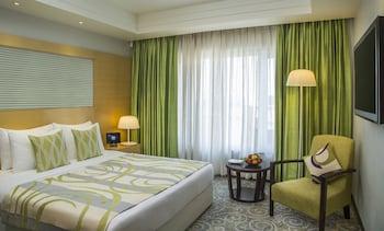 A(z) Radisson Blu Hotel Ahmedabad hotel fényképe itt: Ahmedabad