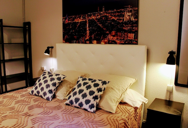 The Buba House, Barcelona, Standard Double Room, Shared Bathroom, Guest Room