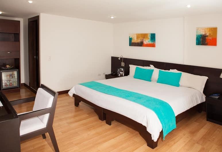 Hotel Colombians Suite International, Bogotá, Egyágyas szoba, Vendégszoba