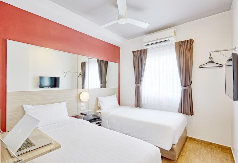 レッド プラネット バンコック アソケ, バンコク, スタンダード ルーム シングルベッド 2 台, 部屋