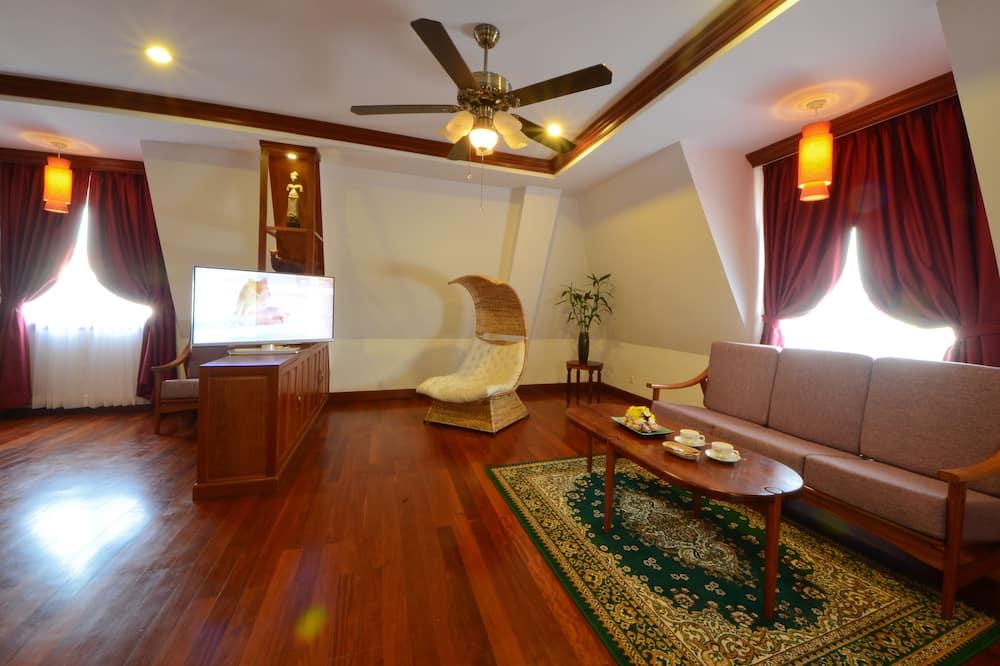 Penthouse Suite - Free 60mn Body Massage - Zona de estar