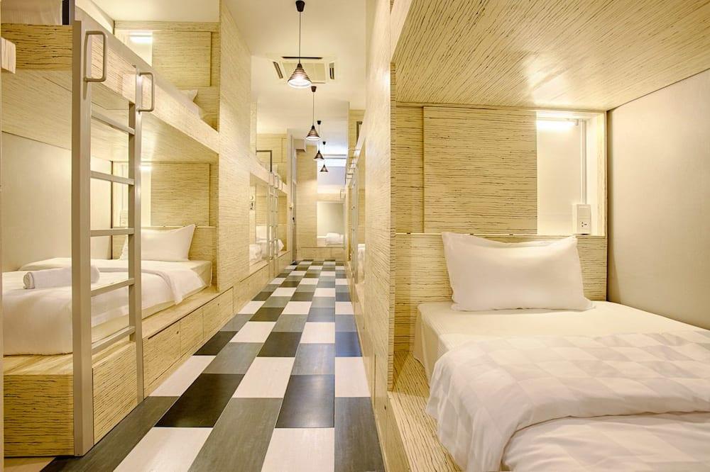 Spoločná zdieľaná izba typu Basic, len pre mužov, spoločná kúpeľňa (1 bed in 19 bed dorm) - Obývacie priestory