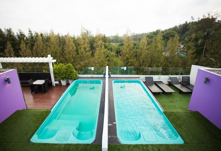 Must Sea Hotel Kata, Karon, Rooftop Pool