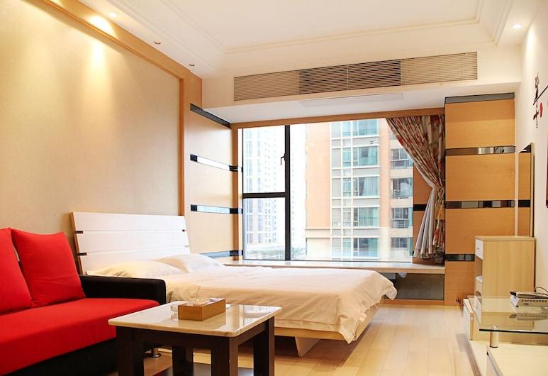 Private-enjoyed home HuiFeng Apartment Hotel, Guangzhou, Deluxe soba, 1 bračni krevet, Soba za goste