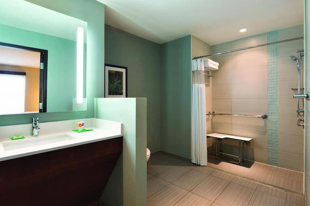 Premium-værelse - 1 kingsize-seng - Badeværelse
