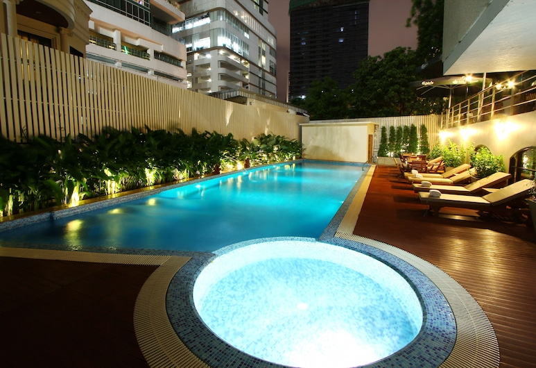 Hotel Mermaid Bangkok, Bangkok, Outdoor Pool