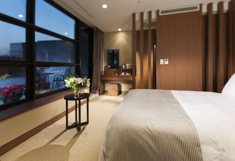 STAZ ホテル 明洞 I, ソウル, スタンダード ルーム テラス (No Pool Access in Winter Season), 部屋