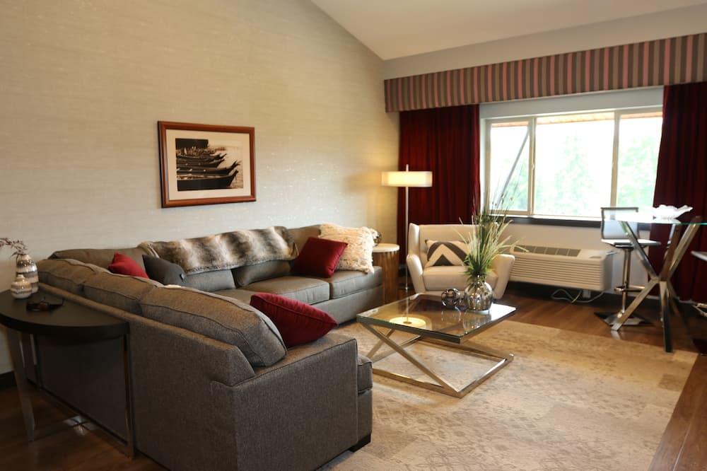 Apartmán typu Premium, nefajčiarska izba (2-Room) - Obývacie priestory