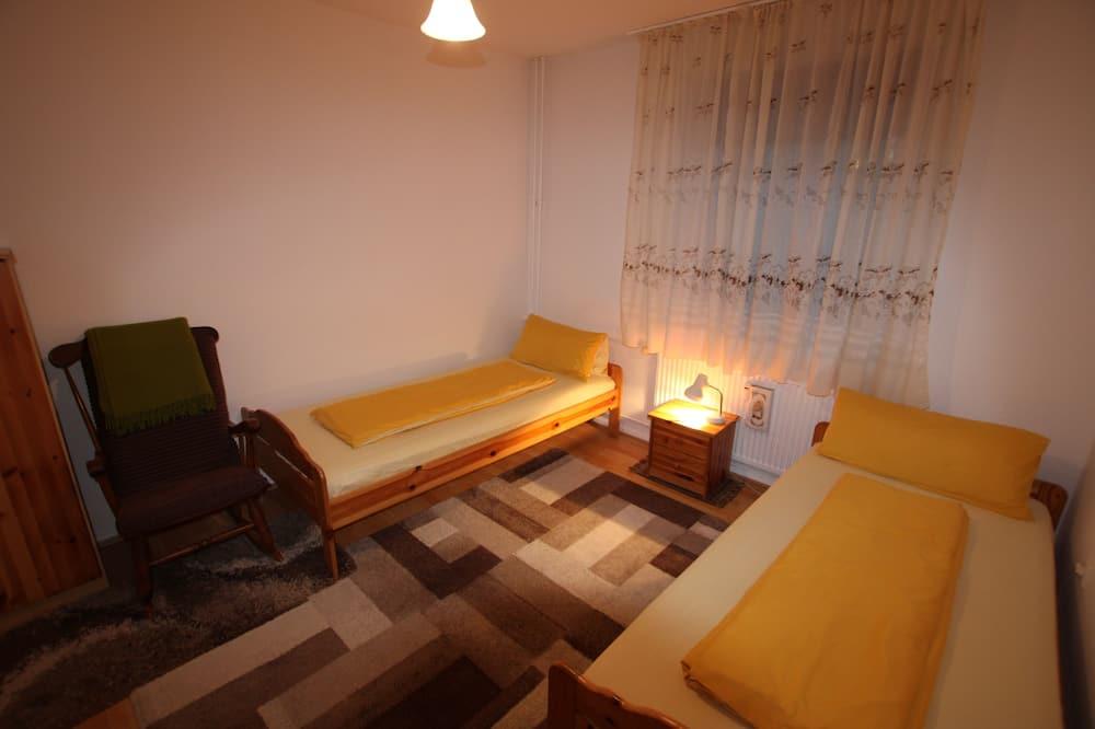 Сімейний двомісний номер (2 односпальних ліжка), спільна ванна - Номер