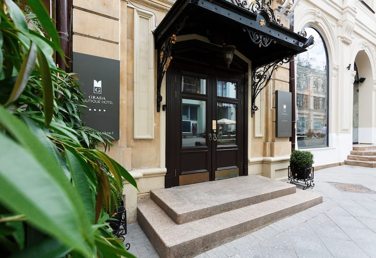 Grada Boutique Hotel, Moscow, Hotel Front