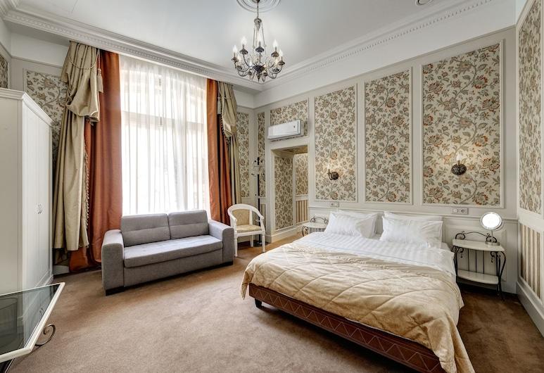 Grada Boutique Hotel, Moskwa, Pokój dwuosobowy, luksusowy, Widok z pokoju