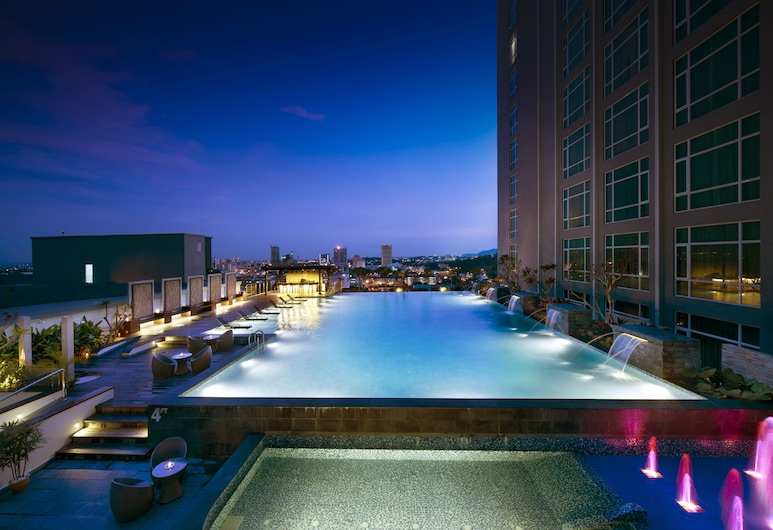 Hatten Hotel Melaka, Malacca City, Alberca al aire libre