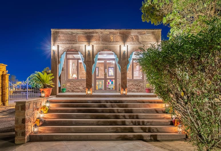 Bijolai Palace – A Inde Hotel, Jodhpur, Ingang van hotel