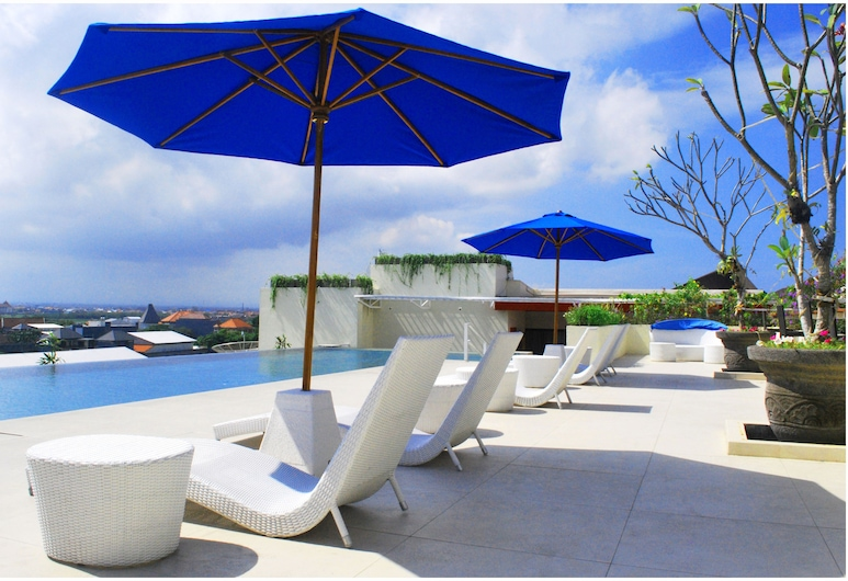 The Atanaya Hotel Bali, Kuta, Hồ bơi tại sân thượng