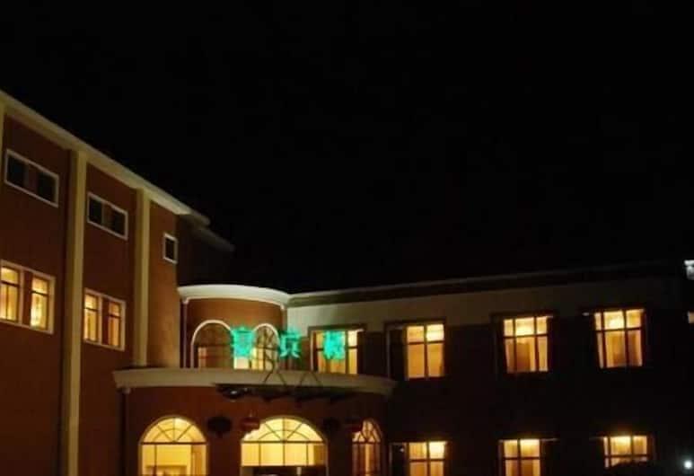 Qingdao De Love Hotel, Qingdao, Bagian Depan Hotel - Sore/Malam